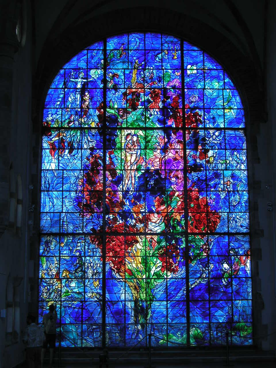 Vitrail de Marc Chagall